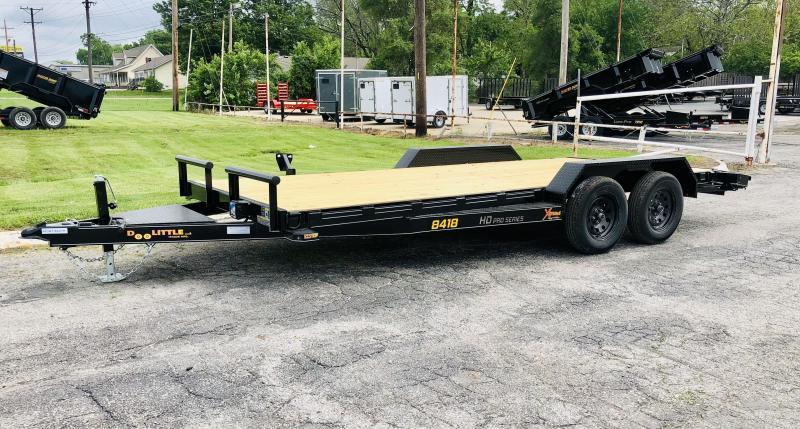 2021 Doolittle 84 x 18 XT Equipment Trailer