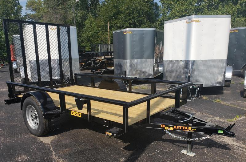 2020 Doolittle 66 x 10 Utility Trailer