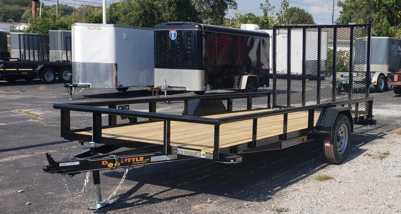 2021 Doolittle Trailer Mfg 77 X 14 Utility Trailer