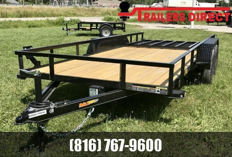 2020 Doolittle 77 X 16 Rally Sport Utility Trailer
