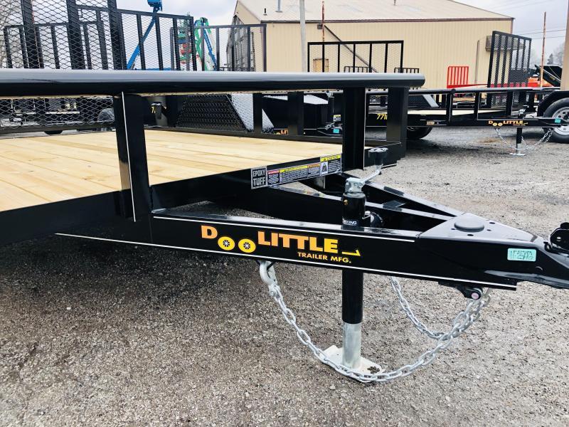 2022 Doolittle 66 x 8 Pipe Top Utility Trailer