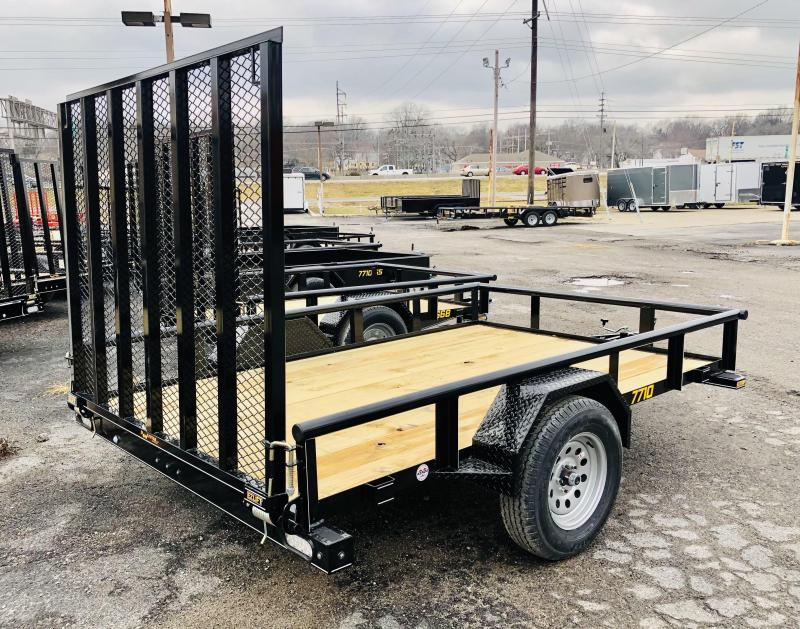 2021 Doolittle 77 X 10 Utility Trailer