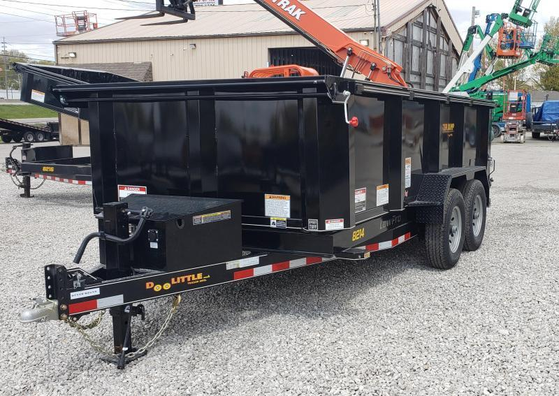 2021 Doolittle 84 x 14 Dump Trailer