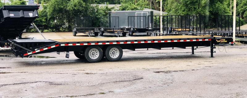 2021 Doolittle 102 x 28 Deckover Equipment Trailer