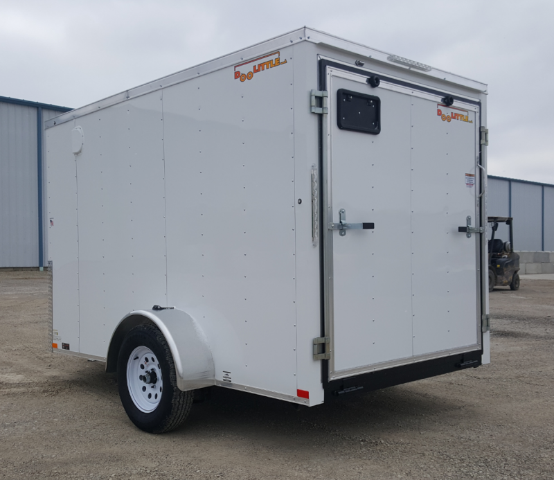 2020 Doolittle Trailer Mfg 6 X 10 Enclosed Cargo Trailer