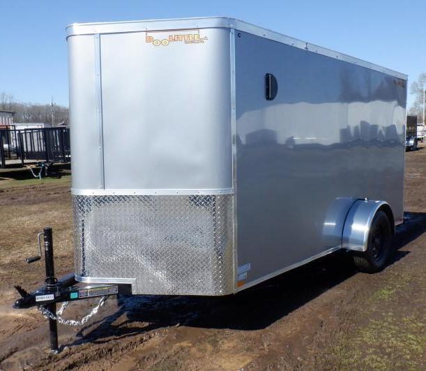 2021 Doolittle 6 X 12 Barn Door Enclosed Cargo Trailer