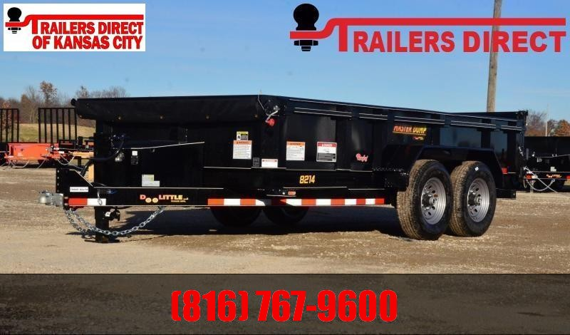 2021 Doolittle Trailer Mfg 82 x 14 Dump Trailer