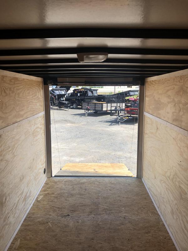 2021 Doolittle 6 x 12 Cargo Enclosed Cargo Trailer
