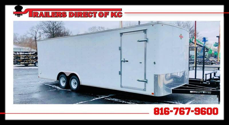 2017 Carry-On 8.5 x 24 Enclosed Cargo Trailer