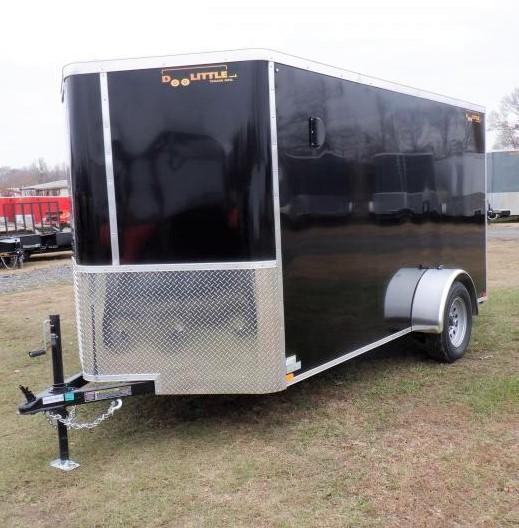2021 Doolittle 6 X 12 Barn Door Cargo Enclosed Cargo Trailer