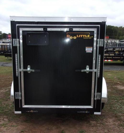 2022 Doolittle 5 X 8 Enclosed Cargo Trailer