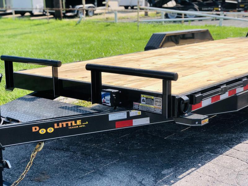 2022 Doolittle 82 X 20 XT Equipment Trailer