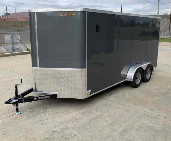 2022 Doolittle Trailer Mfg 7 X 16 Ramp Door Enclosed Cargo Trailer
