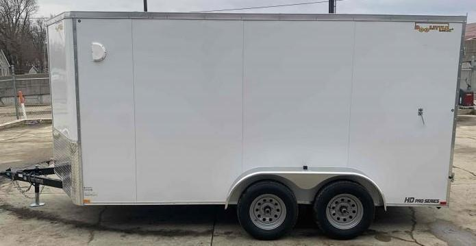 2021 Doolittle Trailer Mfg 7 x 14 Cargo Enclosed Cargo Trailer
