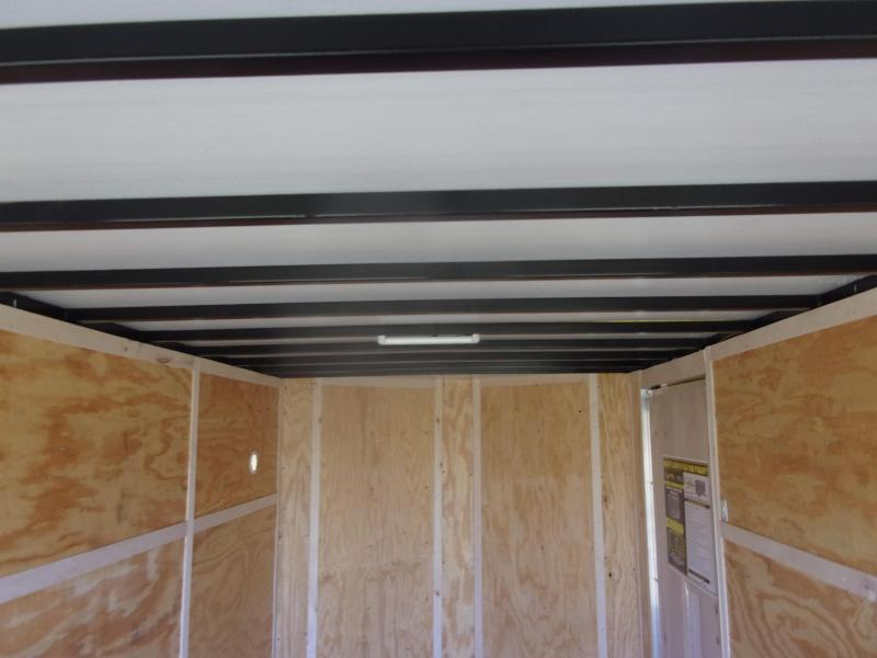 2021 Doolittle 7 X 16 Barn Door Enclosed Cargo Trailer