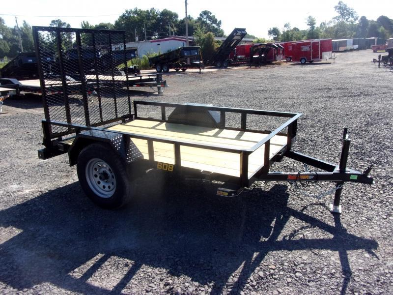 2021 Doolittle Trailer Mfg 60 x 8 Rally Sport Utility Trailer