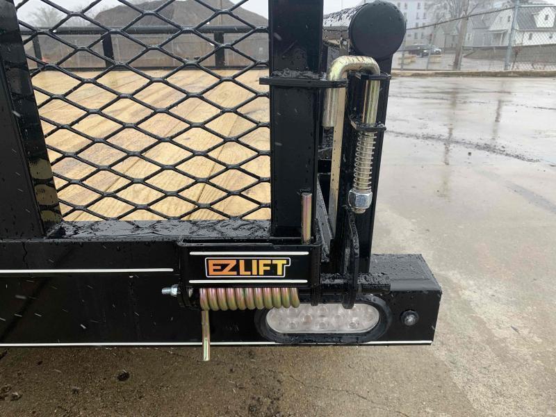 2021 Doolittle 77 X 14 Pipe Top Utility Trailer
