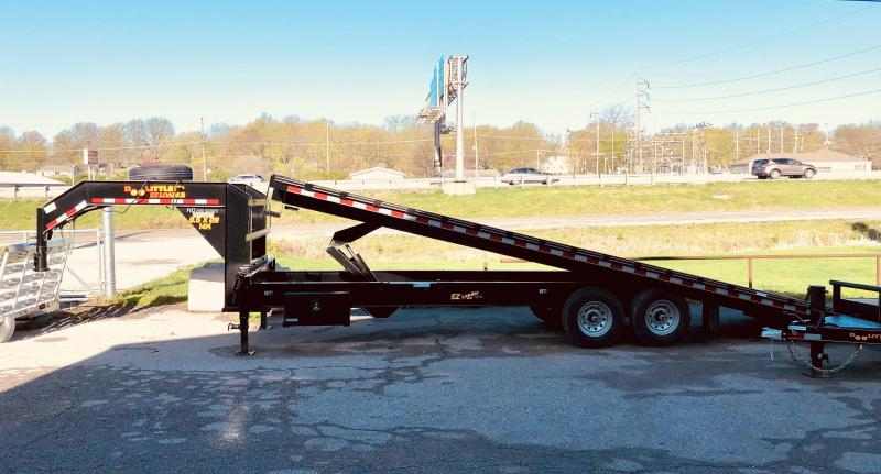 2021 Doolittle 102 x 28 Full Tilt Deckover Equipment Trailer