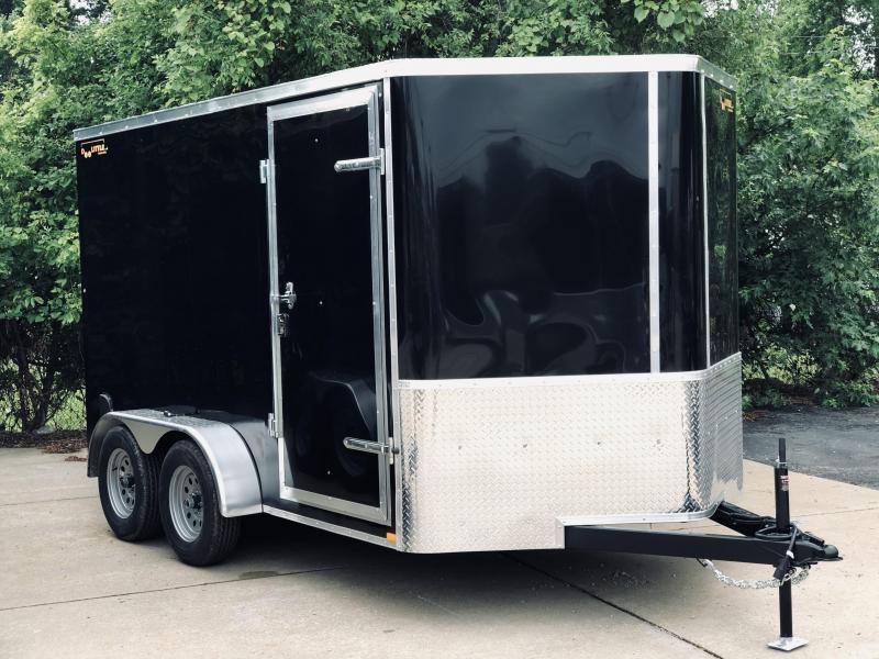 2021 Doolittle 7 x 12 Ramp Door Enclosed Cargo Trailer