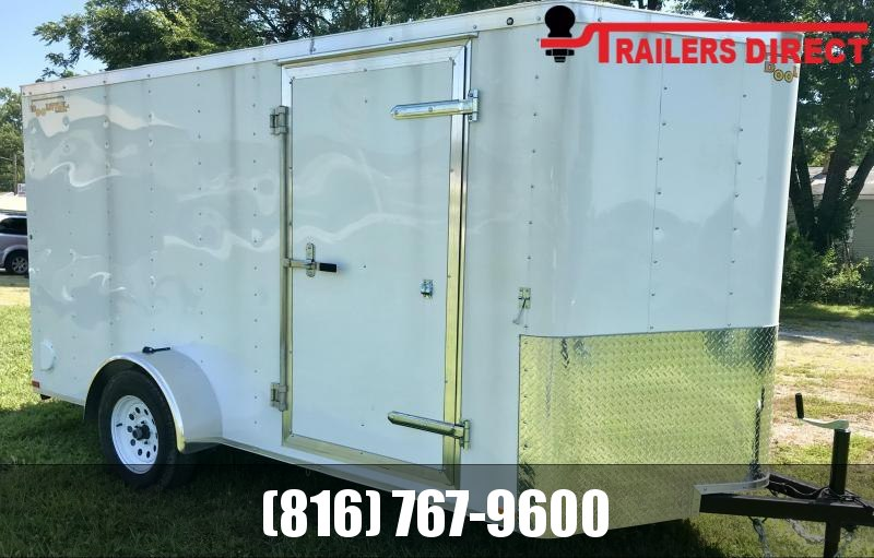 2020 Doolittle 6 X 12 Enclosed Cargo Trailer