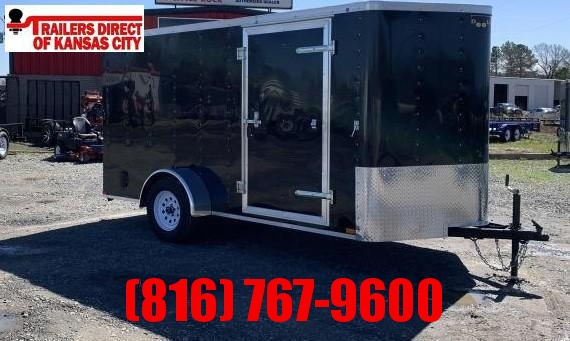 2021 Doolittle Trailer Mfg 6 x 12 Enclosed Cargo Trailer