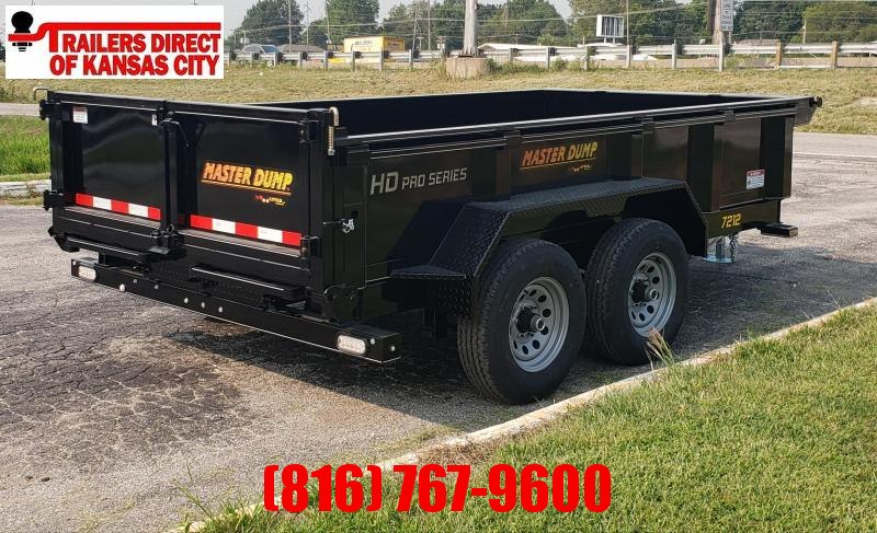 2021 Doolittle Trailer Mfg 72 x 12 Dump Trailer