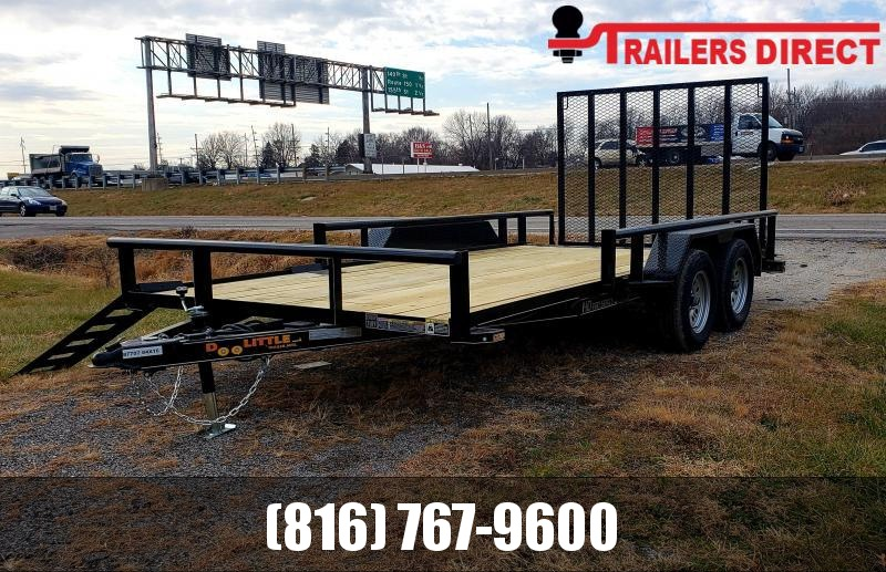 2020 Doolittle Trailer Mfg 84 x 14 Equipment Trailer