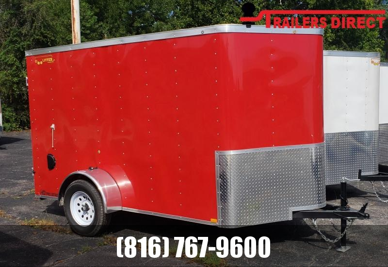 2021 Doolittle Trailer Mfg 6 x 10 Enclosed Cargo Trailer