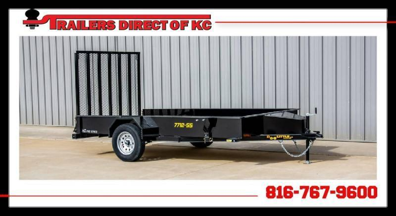 2021 Doolittle Trailer Mfg 77 x 12 SS Utility Trailer