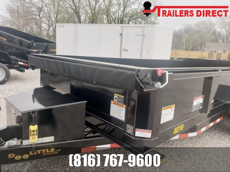 2020 Doolittle Trailer Mfg 82 X 16 Dump Trailer