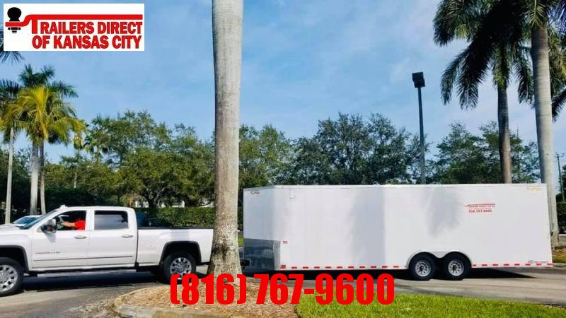 2020 Doolittle 8.5 x 24 Enclosed RENTAL CARGO TRAILER