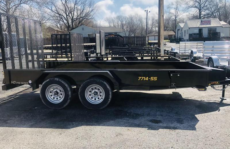 2021 Doolittle Trailer Mfg 77 x 16 SS Utility Trailer