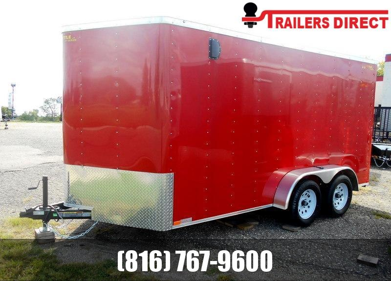 2020 Doolittle 7 X 14 Enclosed Cargo Trailer