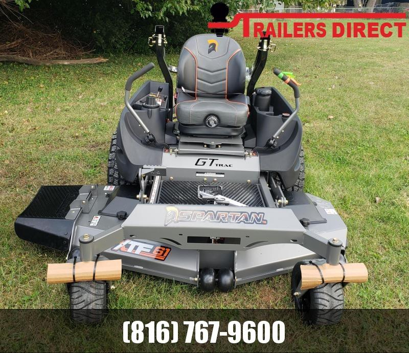 "2020 SPARTAN 61"" RT HD ZERO TURN LAWN MOWER"