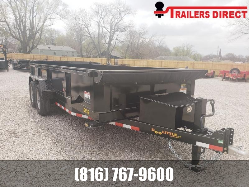 2020 Doolittle 82 x 16 Enclosed Cargo Trailer