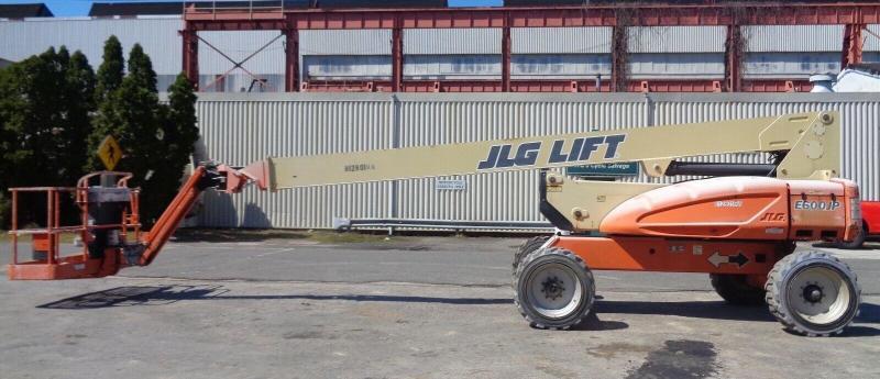 2013 JLG 60FT ELECTRIC TELESCOPIC BOOM LIFT Material Handling