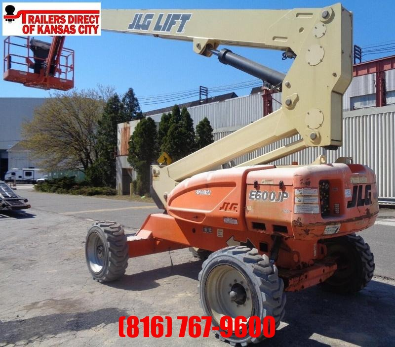 2013 JLG 60FT ELECTRIC TELESCOPIC BOOM LIFT Material Handling