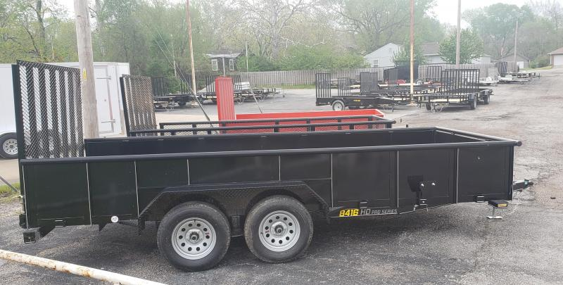 2021 Doolittle 84 X 16 Utility Trailer