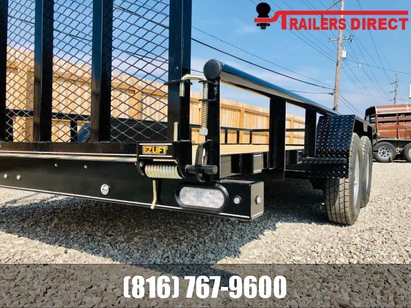 2021 Doolittle Trailer Mfg 84 X 18 Utility Trailer