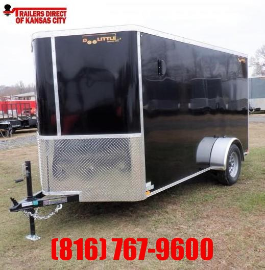2021 Doolittle 6 X 12 Enclosed Cargo Trailer