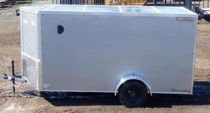 2022 Doolittle Trailer Mfg 7 X 12 Enclosed Cargo Trailer