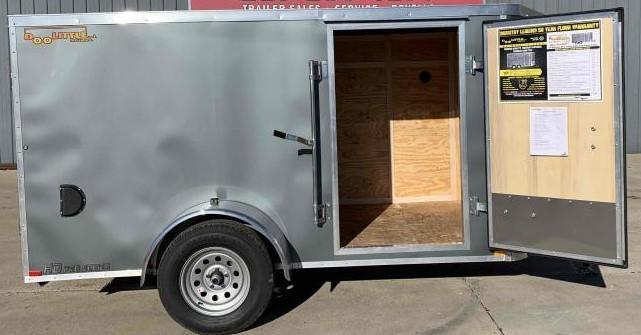 2022 Doolittle 5 X8 Enclosed Cargo Trailer