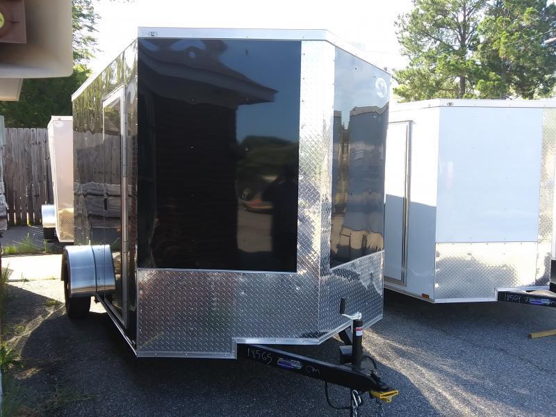 2021 Quality Cargo 7X12 SA Enclosed Cargo Trailer
