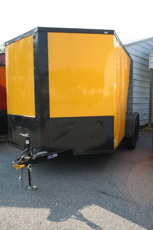 2019 Quality Cargo 7X12 TA Enclosed Cargo Trailer