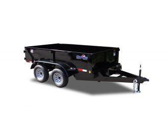 "2021 Hawke Trailers Cardinal 72"" X 10' 7K Low Profile Dump Trailer"