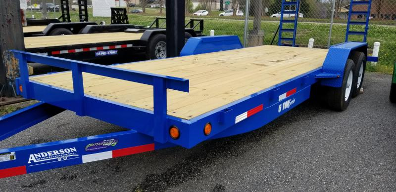 2021 Anderson Manufacturing EQ7205T Equipment Series Equipment Trailer