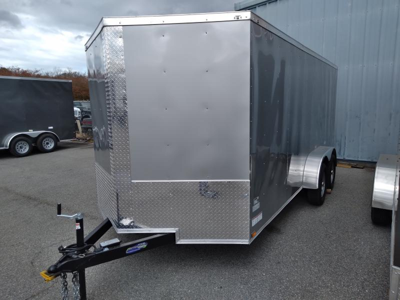 2021 Quality Cargo 7X16 TA Enclosed Cargo Trailer