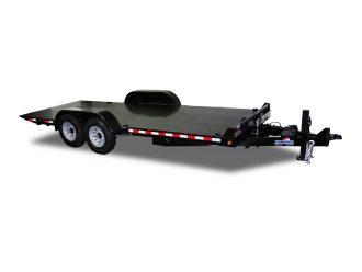 "2021 Hawke Trailers 80"" X 20' 12K Standard Power Tilt Equipment Trailer"