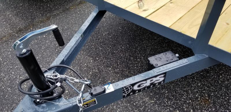 2021 GPS Trailers GTT6147K Utility Trailer
