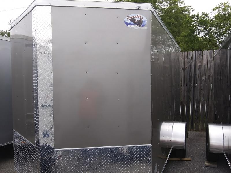 2020 Quality Cargo 7X12 SA Enclosed Cargo Trailer